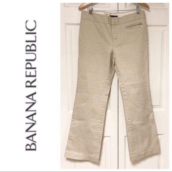 Banana Republic Pants - BANANA REPUBLIC MARTIN FIT KHAKI PANTS